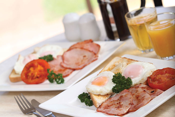 resort accommodation breakfasts