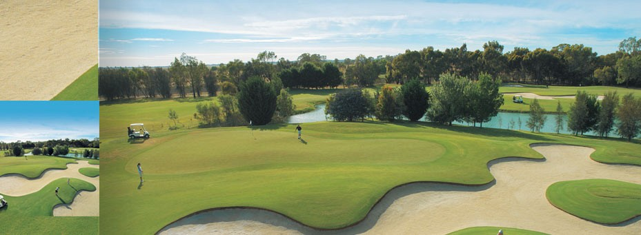 The Swan Hill Golf Course at Murray Downs Golf Resort