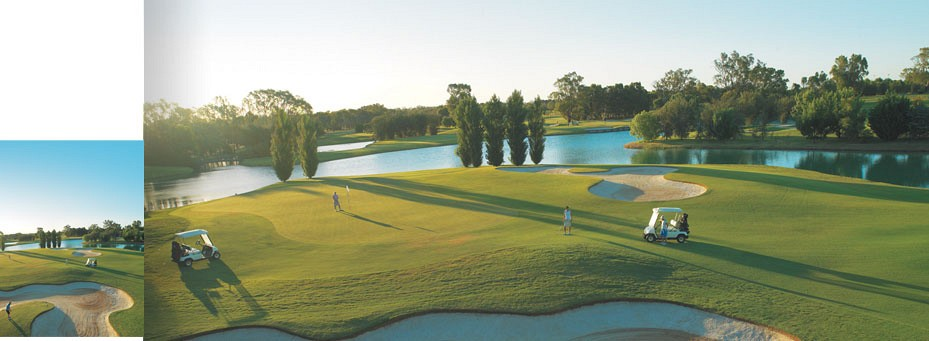 Murray Downs Golf Resort in Australia