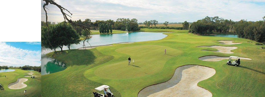 The Murray Downs Golf Course at Swan Hill