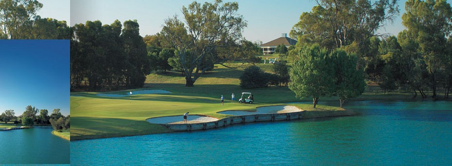 Murray Downs Golf Resort by the Murray River