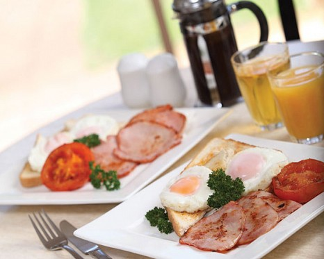 On-course Breakfasts
